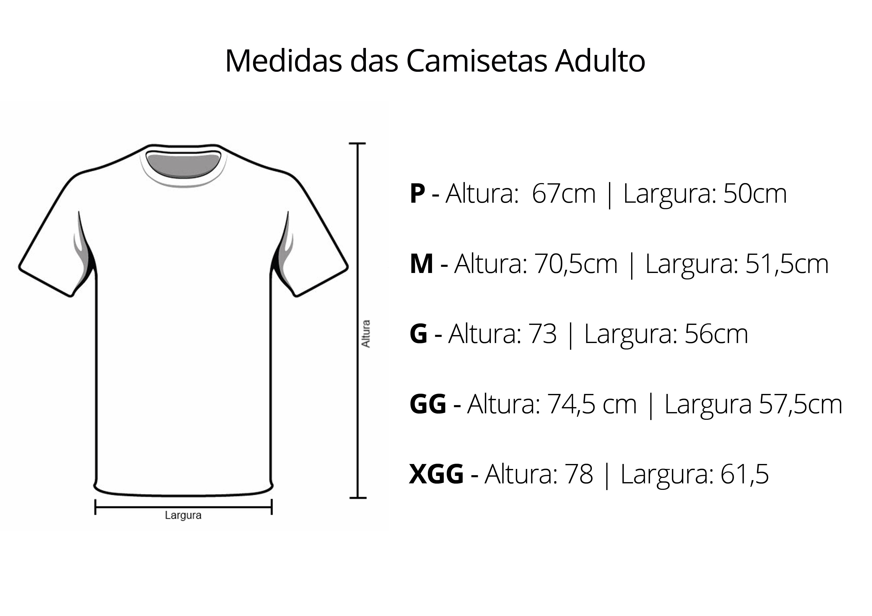 A Camiseta azul tem tecido 100% Poliéster d5c7a276ebe8f